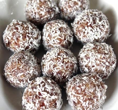 Coconut Date Balls | Paleo Leap