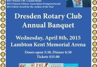 Rotary Banquet Flyer