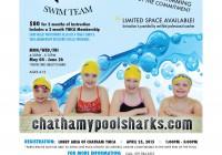 Sharks Swim School Full Page Flyer