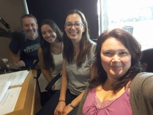 Katy Uher has joined the team at XS Mornings on 99.1 CKXS!
