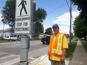 Al Welsh is leaving his crossing guard post in Wallaceburg after 28 years.